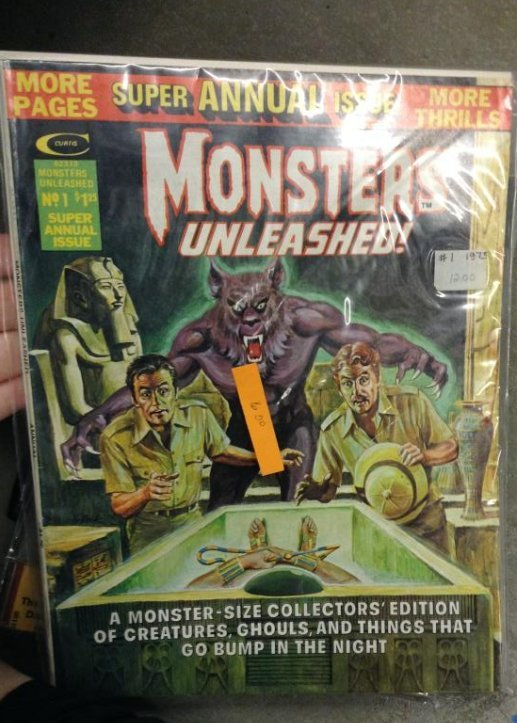Curtis Monsters unleashed Very Good