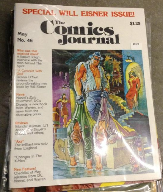 The Comics Journal Special will Eisner Issue Very Good