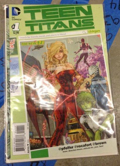 DC Comic Teen Titans Very Good