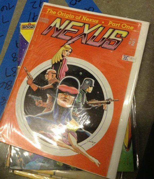 Capital Comics - The Origin of Nexus - Part One Very