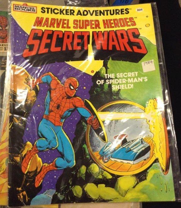 Marvel Books - Marvel Super Heros Secret Wars Sticker