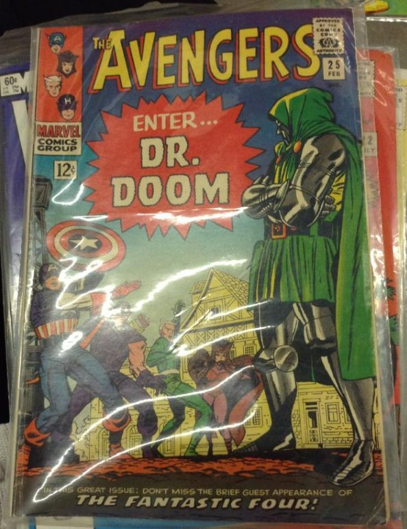 A Marvel Comics Avengers Enter Dr. Doom