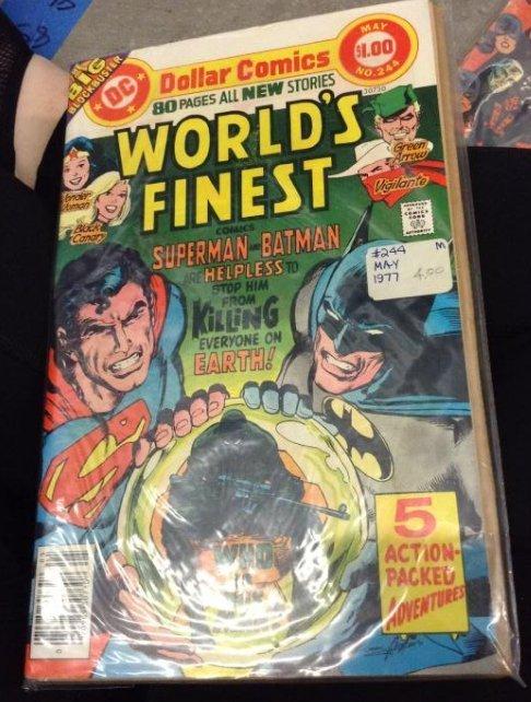 DC World Finest Comics Superman and Batman, Very Good