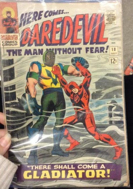 """Marvel Comics Group """"Here Come Daredevil the Man"""