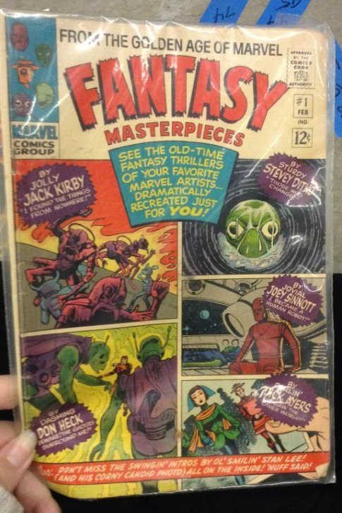 "Marvel Comics Group ""Golden Age of Marvel Fantasy"