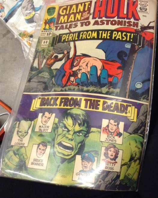 Marvel Giant-Man and The Incredible Hulk Tales to