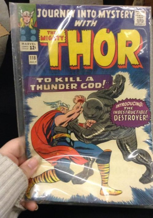 Marvel Giant - Journey into Mystery with Thor - to kill