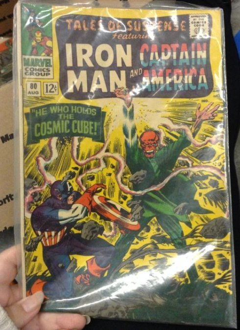 Marvel Giant - Tales of Suspense feathuring Iron Man