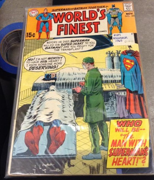 DC Superman and Batman together World's Finest, Very