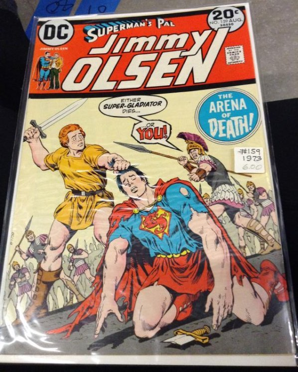 DC Superman -  The Arena of Action, Very Good