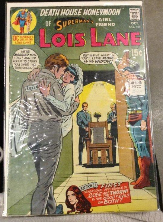 DC Superman Dealth House Honeymoon of Superman's