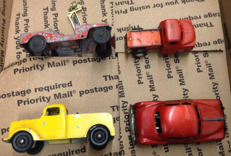 Vintage Metal Cars