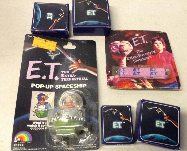 Vintage ET Toys
