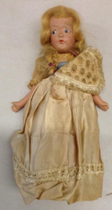 Early Composite Doll no markings Looks German