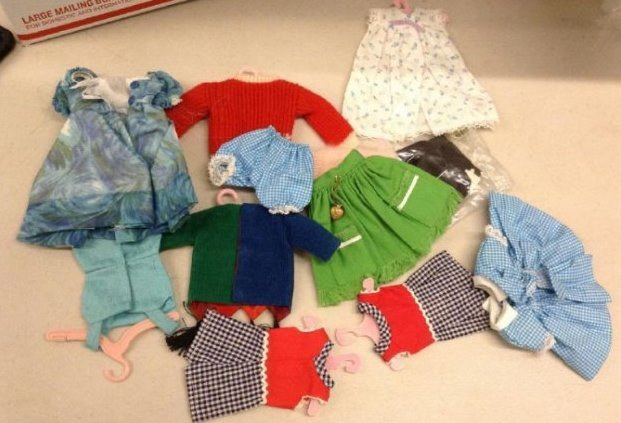 Vintage Tammy Doll Clothes
