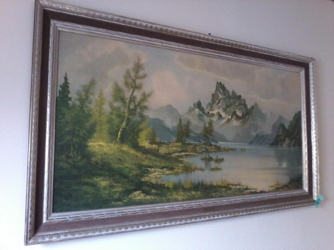 "Wijmer painting "" mountain mist"""