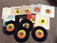 Lot of 13 Beatles 45 records