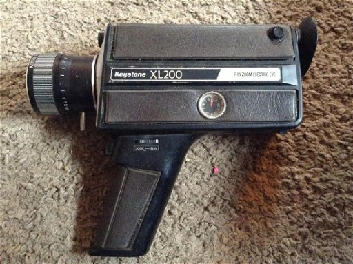 Keystone XL200 F:1 1 Zoom Electric Eye Video Camera - Jan 09