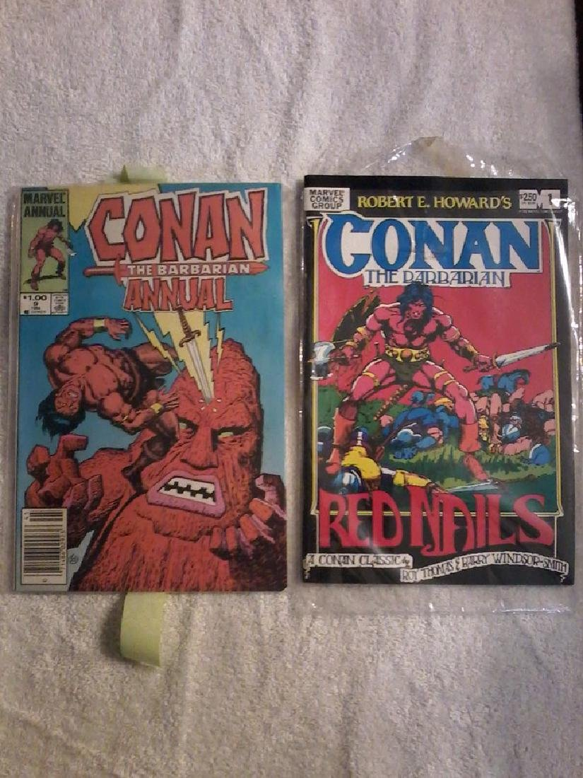 Conan the Barbarian # 1 Red Nails  Annual # 9