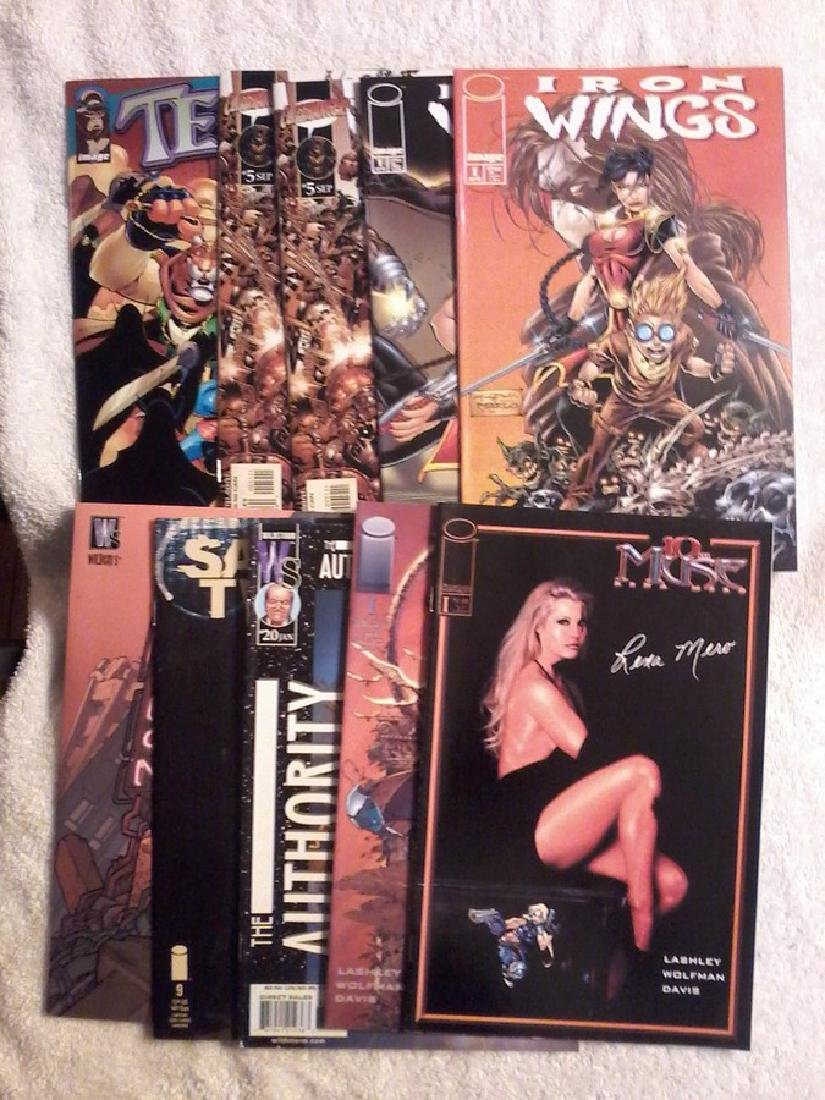 Lot of 9 independent Comic Books - 10 Muse - Iron Wings