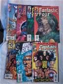 Mixed lot of 6 Marvel Comics  Capt America  The New