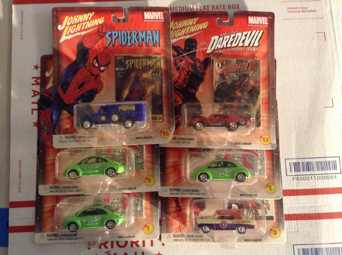 Hotwheels Johnny Lightnng DC Comics Cars