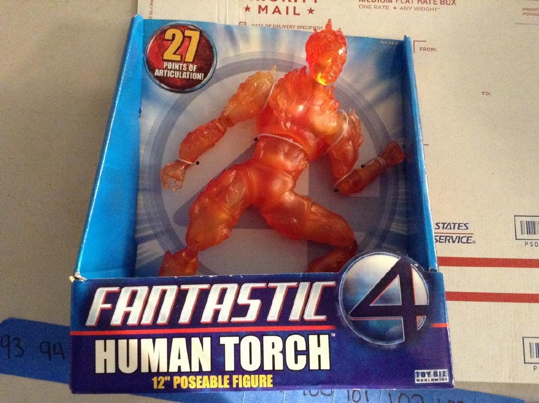 12 inch Marvel Human Torch