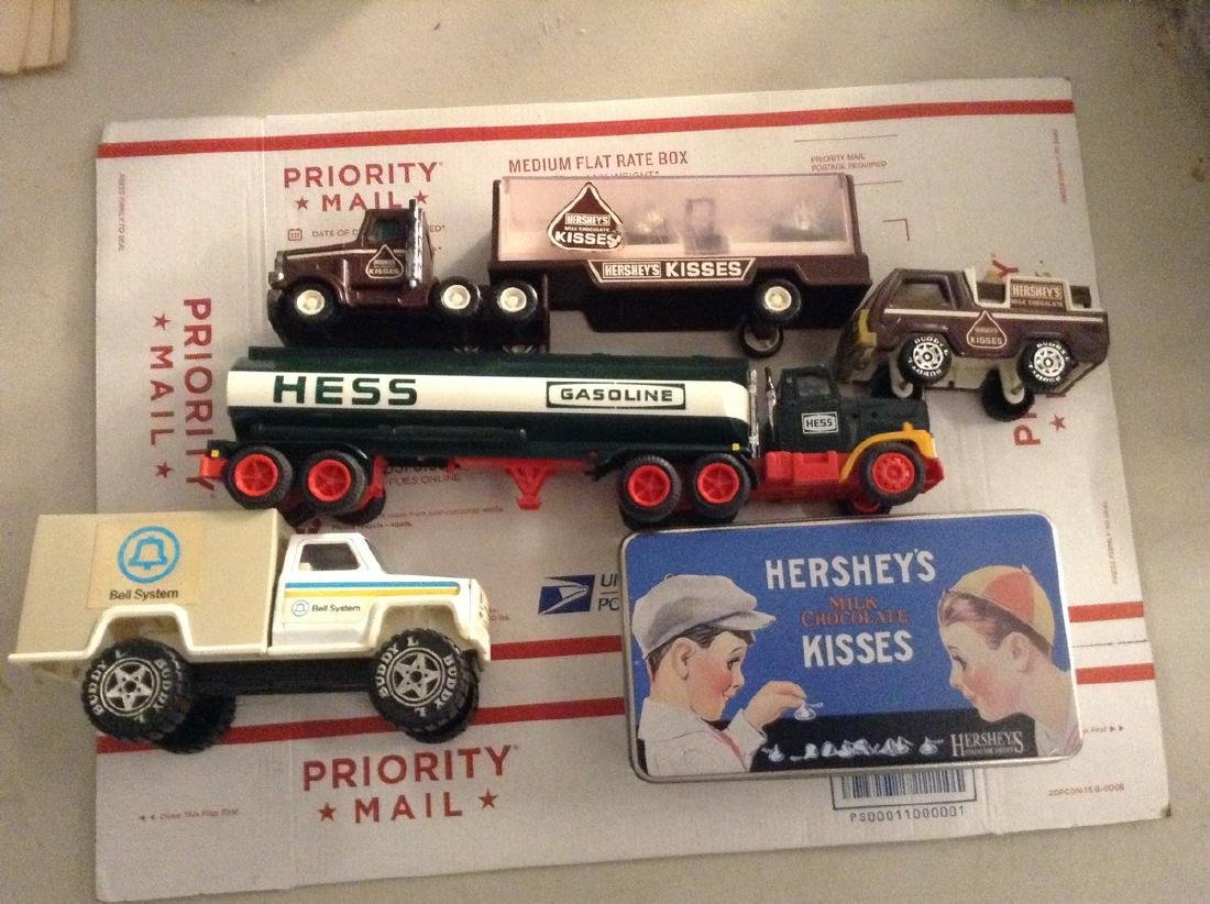 Early Hersey Telephone Hess Truck Buddy L