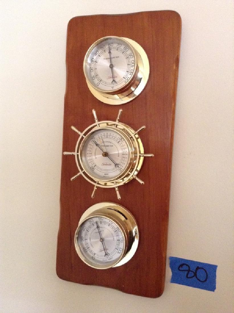 Wall Hanging Barometer Set