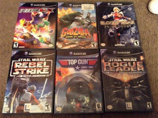 Lot Of 6 Nintendo Gamecube Games