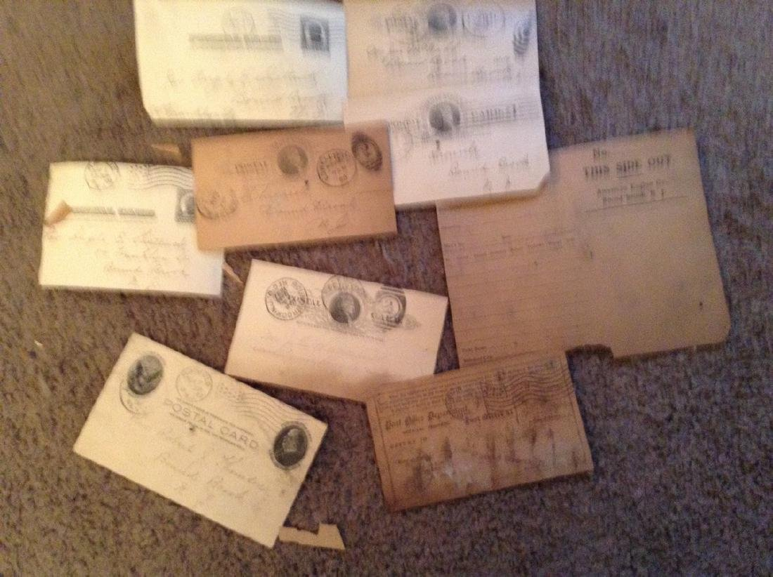 1800's Mailed Postcards