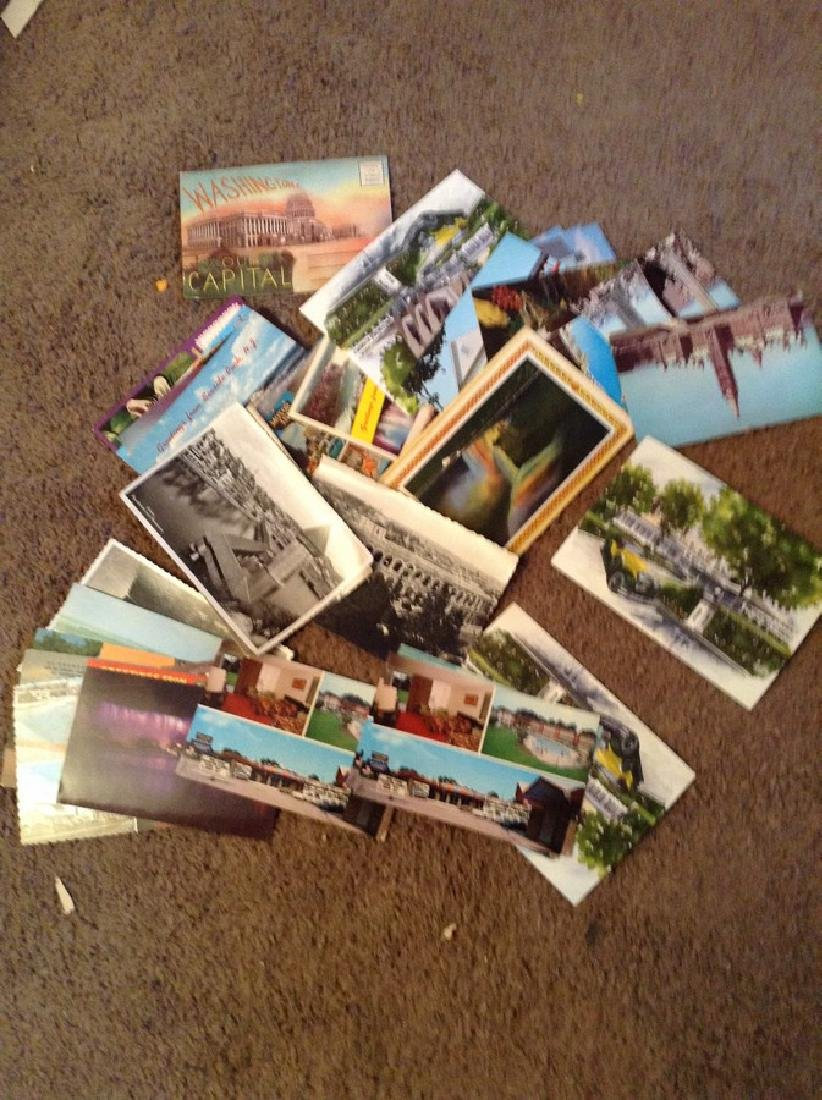 Various Vintage Postcards