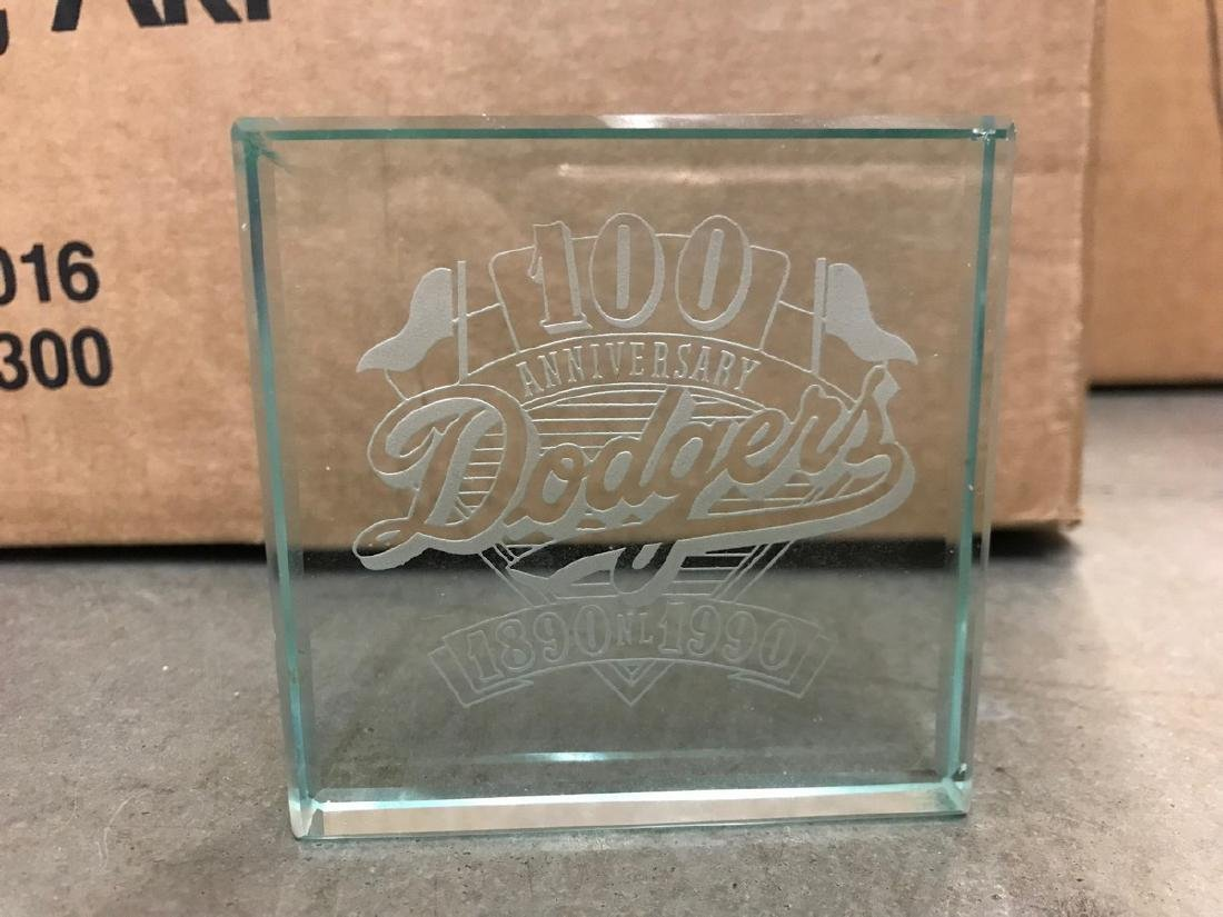 Dodgers 100 Year Anniversary Paper Weight