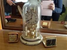Vintage Travel Alarm Clocks, Elgin, Diehl, Schatz