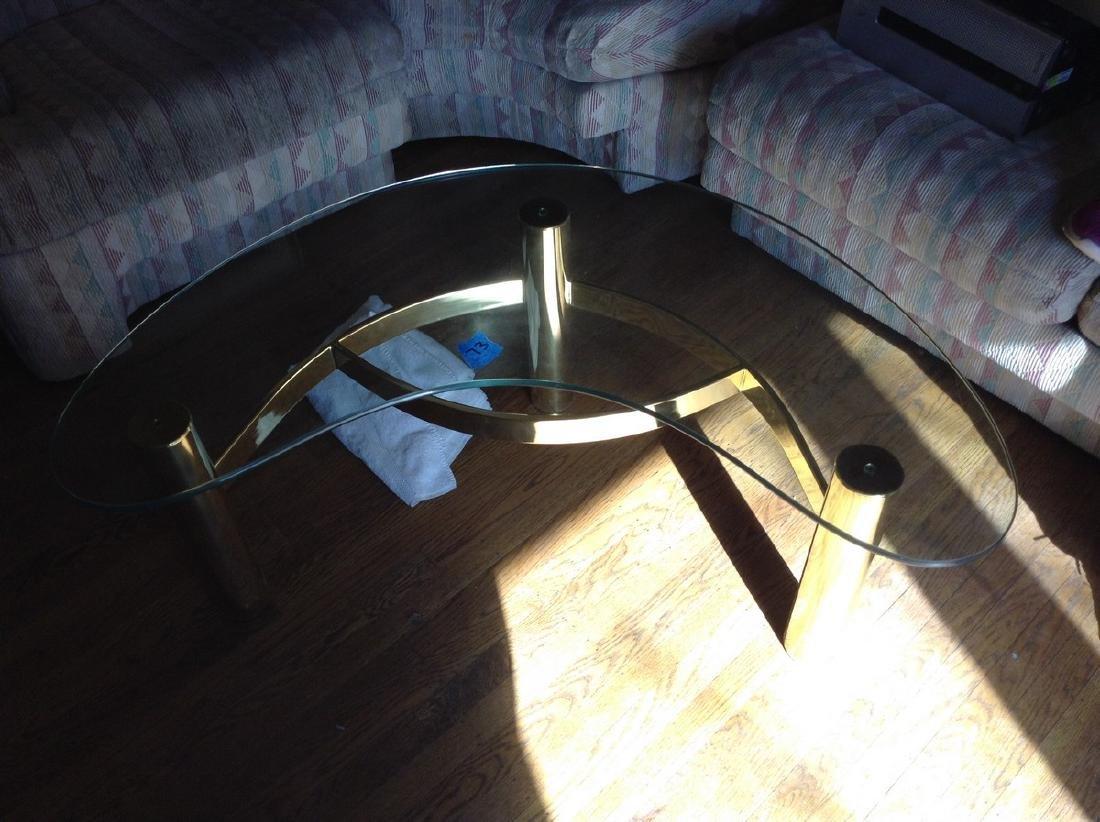 Modern Glass Top Coffee Table