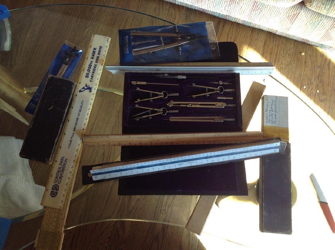 Vintage Drafting tools, Some German Made