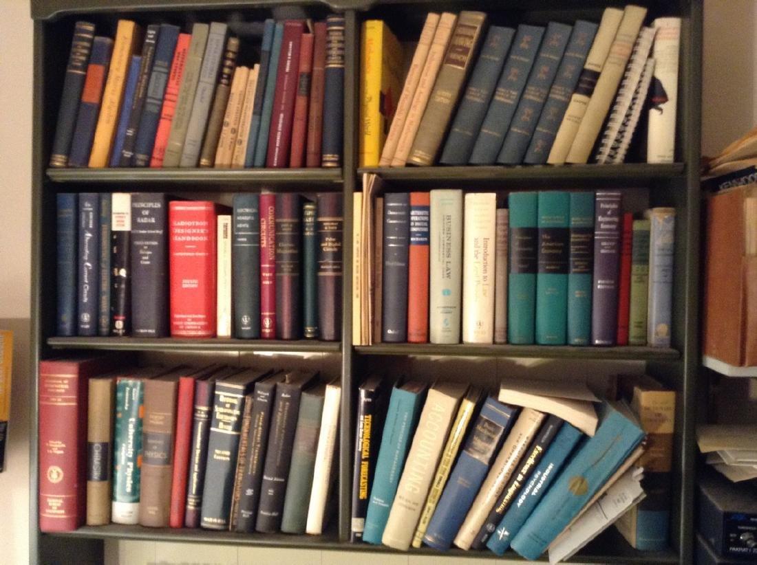 Leather Bound Radio; Radar; Electrical & Other Book