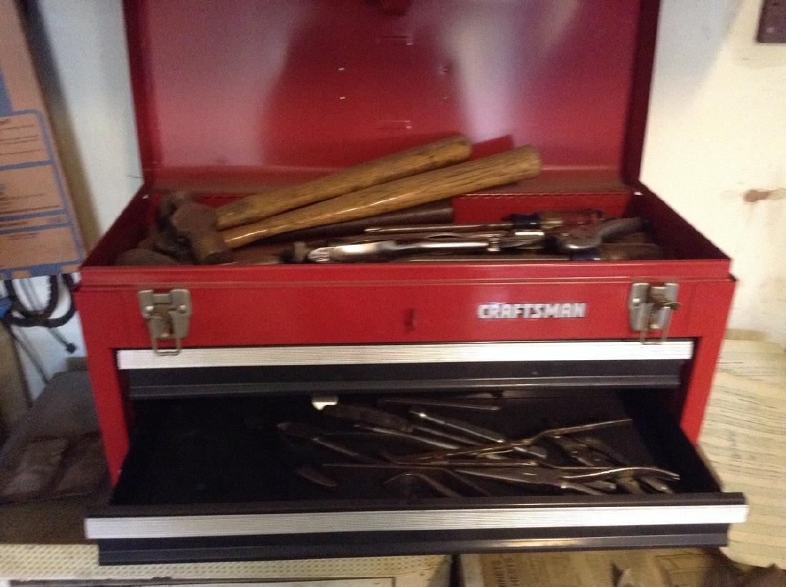 Craftman toolbox & tools