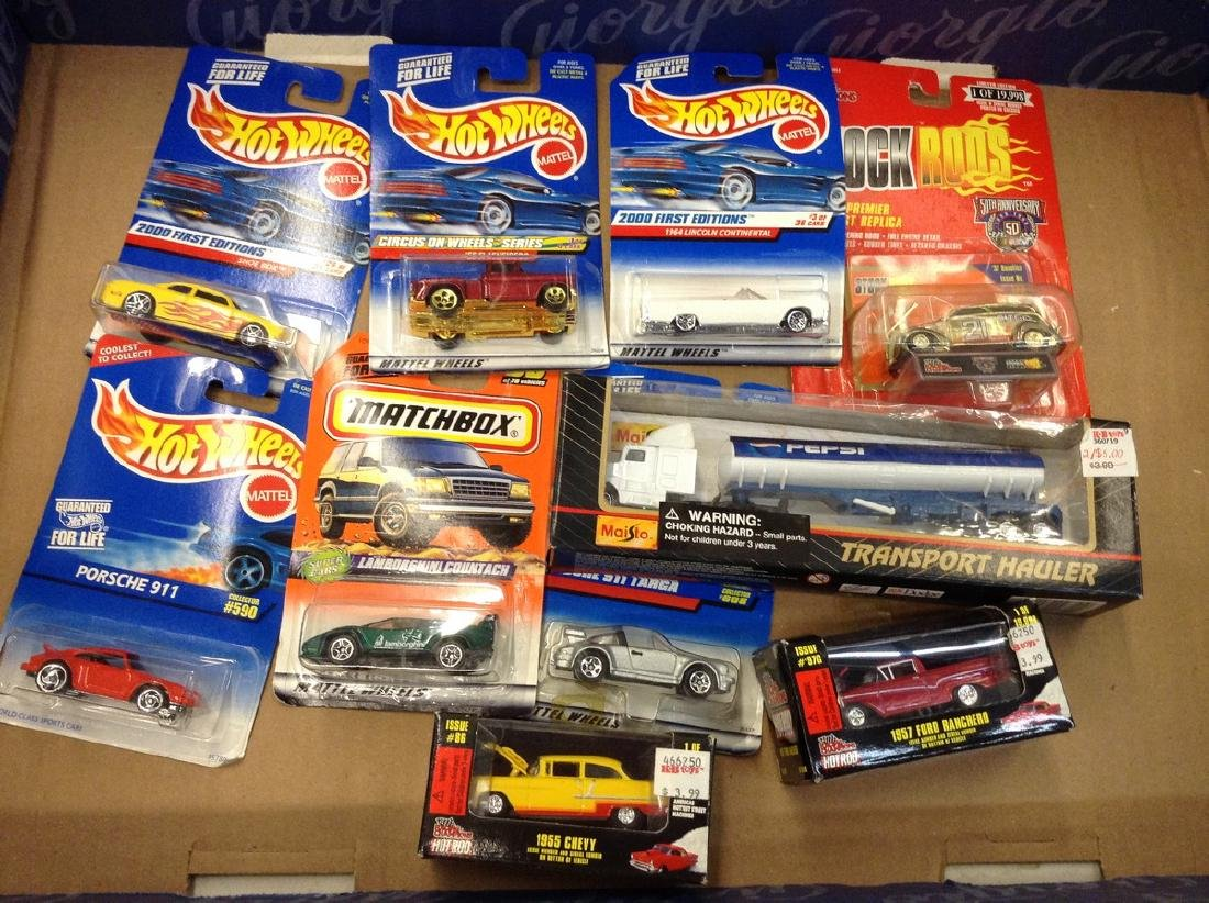 Hot Wheels & More Diecast Cars