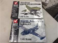 2 Military Airplane Models