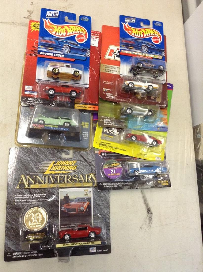 Lot of Johnny Lightning Die cast Cars & More