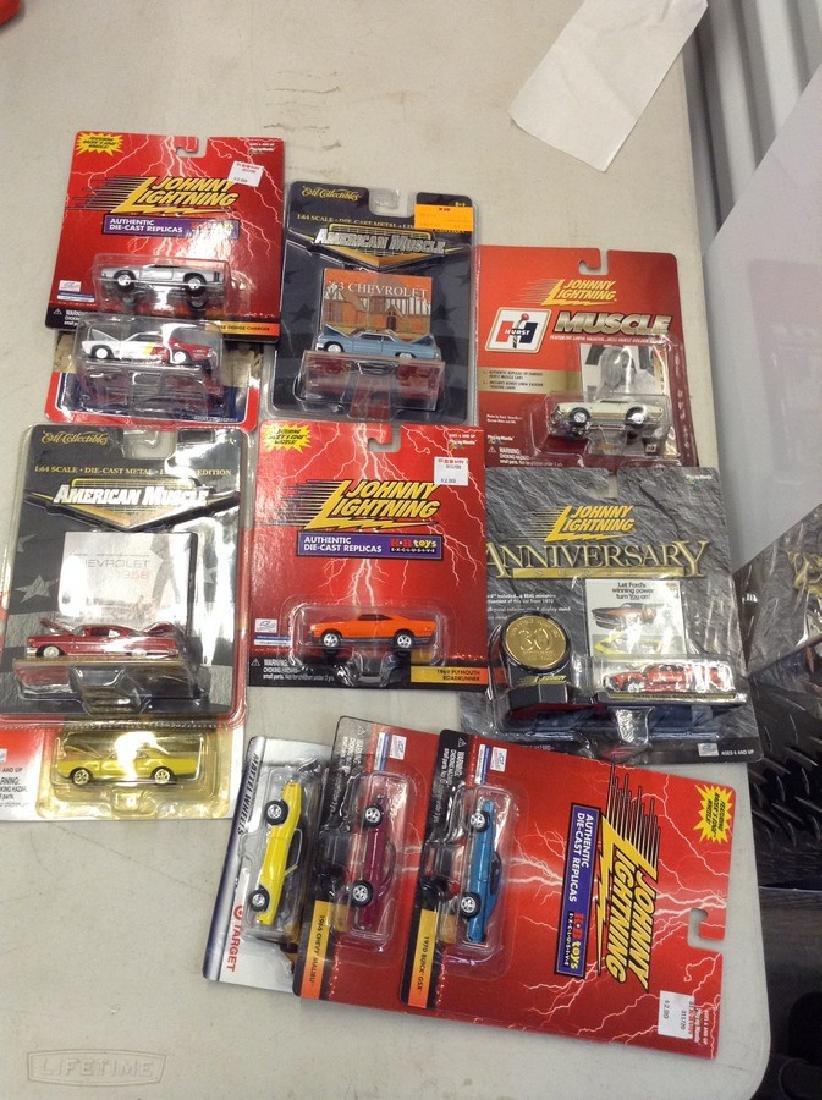 Lot of Johnny Lightning Die cast Cars & More