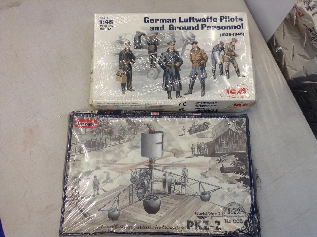 Lot of 2 Military Models