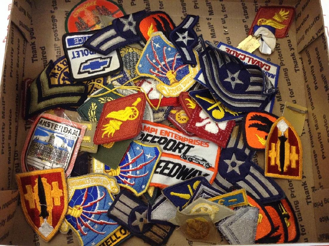 Military Patches & more