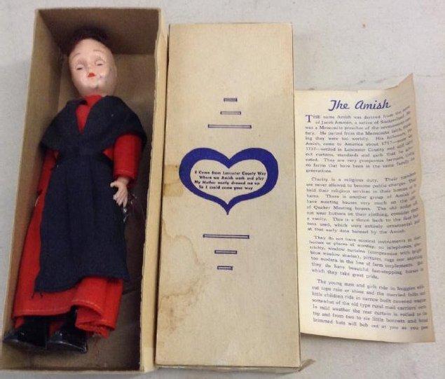 Vintage Amish Doll