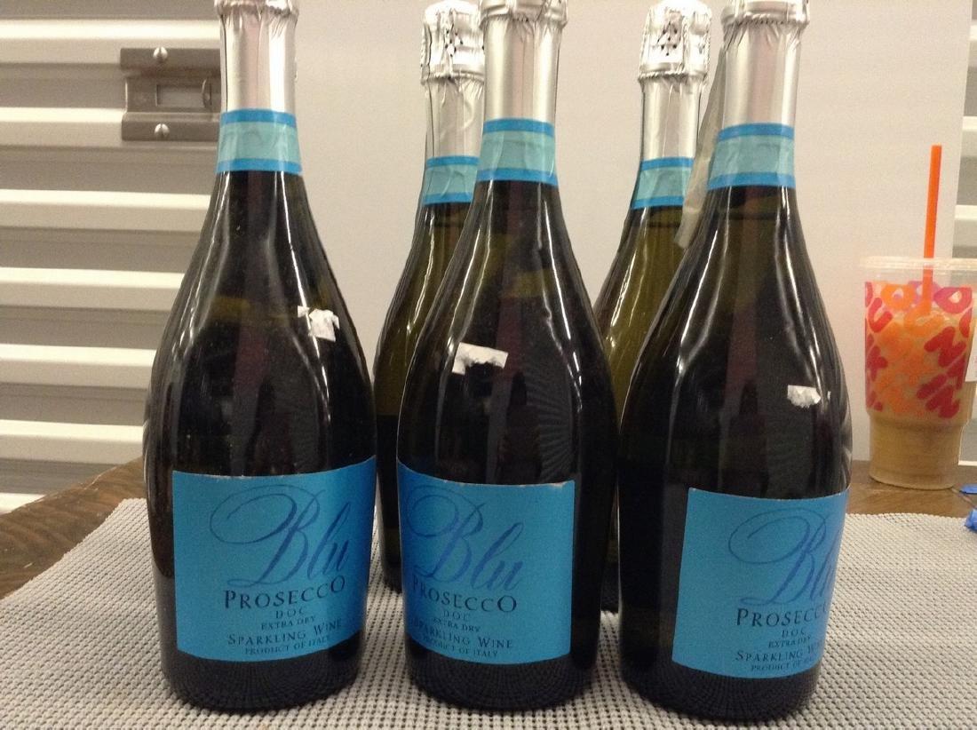 Lot of 6 Bottles Blu Prosecco