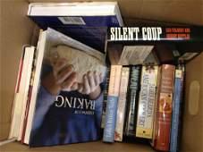 Box of Cook Books  Misc Topics