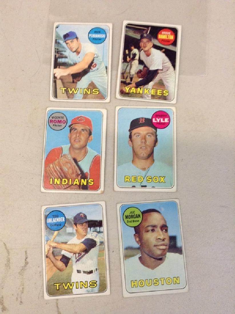 Lot of Baseball Cards - 1969