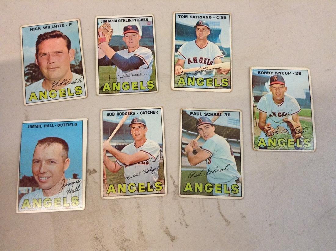 Baseball Cards 1967 Angels
