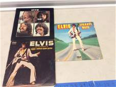 Lot of Elvis and Beatles records